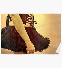 .dark ballerina. Poster