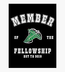 Fellowship (black tee) Photographic Print