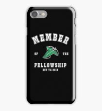 Fellowship (black tee) iPhone Case/Skin