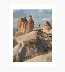 Stone Camel - Capadoccia Turkey Art Print