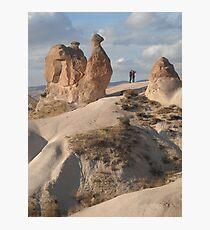 Stone Camel - Capadoccia Turkey Photographic Print