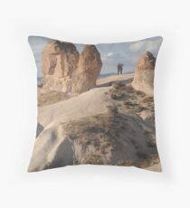 Stone Camel - Capadoccia Turkey Throw Pillow