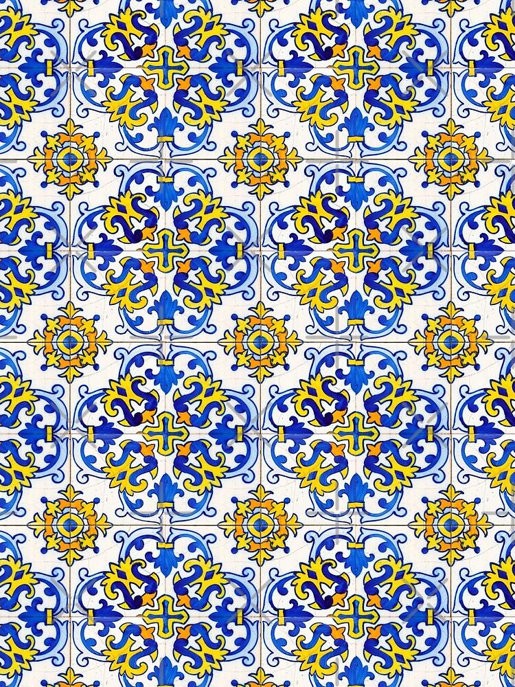 Vintage Azulejos Tile by ernstc