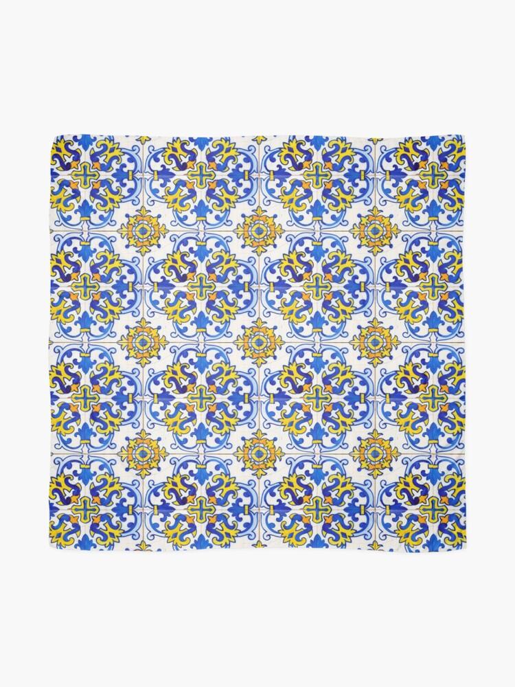 Alternate view of Vintage Azulejos Tile Scarf