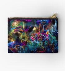 Bolso de mano Flores de galaxias de los jardines celestes.