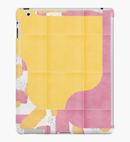 Bold Painted Tiles 03 #redbubble #midmod iPad Case/Skin