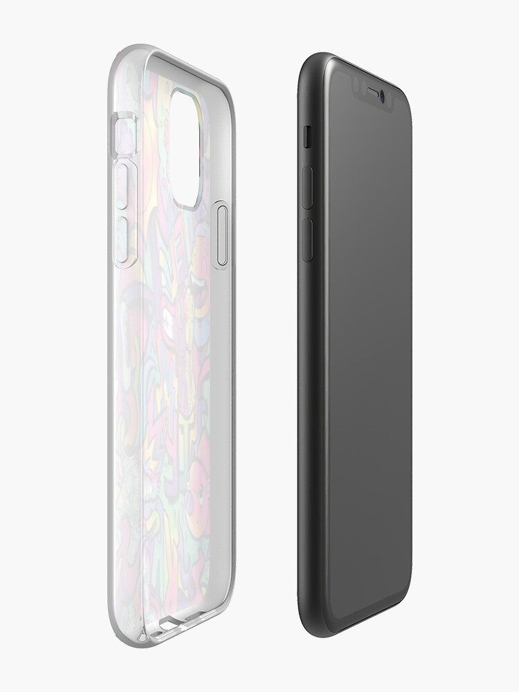 coque or iphone 7 - Coque iPhone « CAMÉLÉON », par EadanShamir