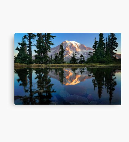 Rainier Reflected Canvas Print