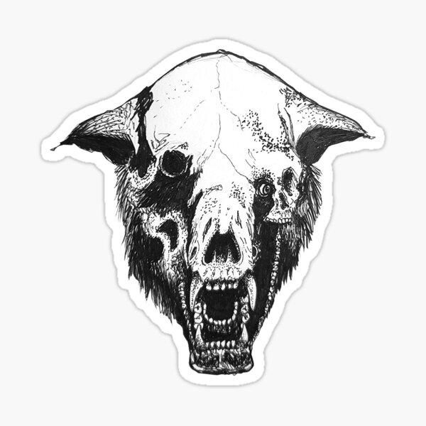 Annihilation Bear Front Sticker