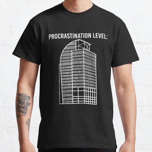 I4 Eyesore Procrastination Level Funny saying Camiseta clásica