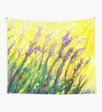 Button Grass Wall Tapestry