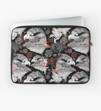 graphic design portraits of eagles Laptop Sleeve