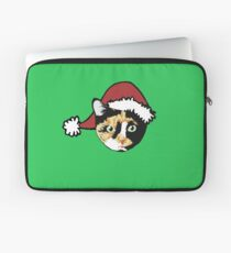 Calico cat Christmas Laptop Sleeve