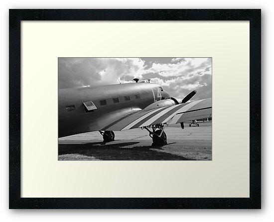 Douglas C -47A Dakota  by David Fowler