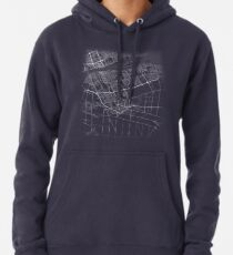 Minimal Windsor (Canada, Ontario) City Map & Streets Hoodie