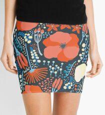 Summer field colorful pattern Mini Skirt