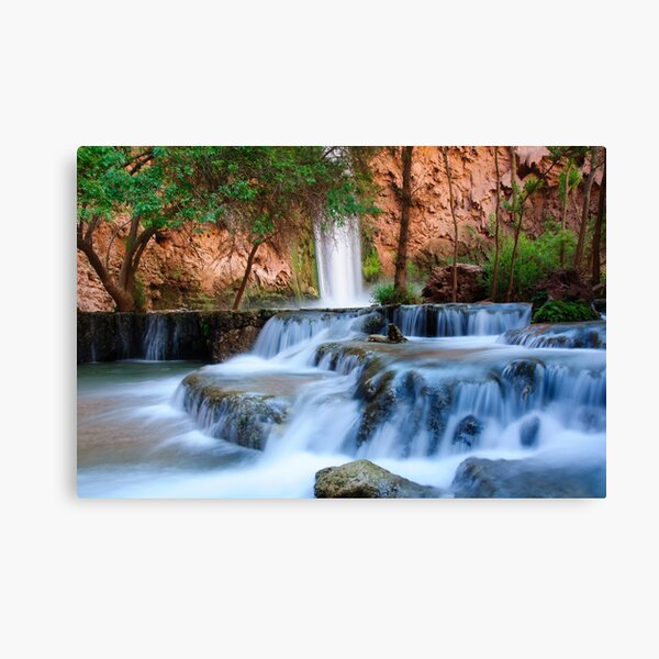 Mooney Falls Canvas Print