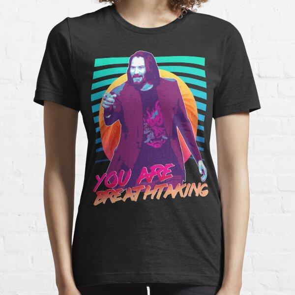 Keanu Reeves - ¡Eres impresionante! Camiseta esencial