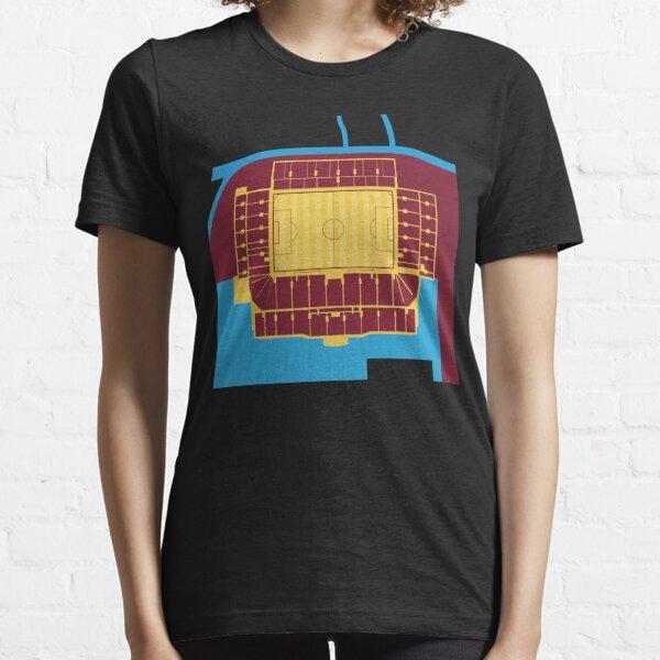 West Ham United Football Club Boleyn Ground Upton Park E13 T Shirt Whufc Kit Fc