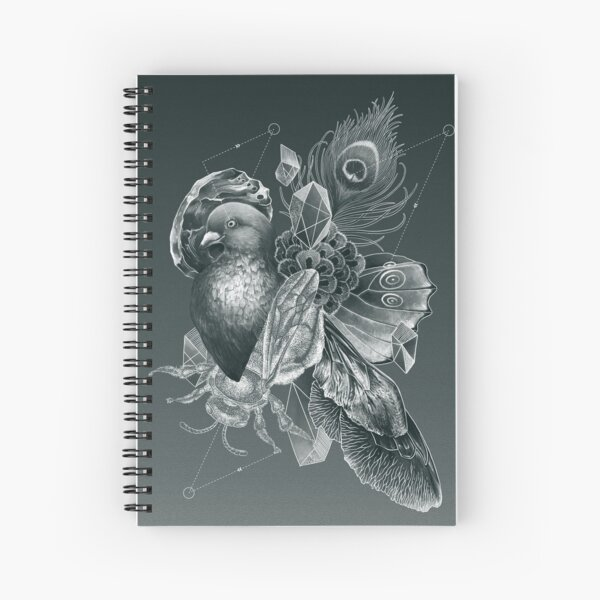 Iridescence Spiral Notebook
