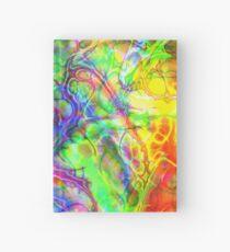 Flower Power FRACTAL - Psychedelische Farben Notizbuch