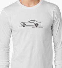 1969 Ford Mustang Hardtop Long Sleeve T-Shirt