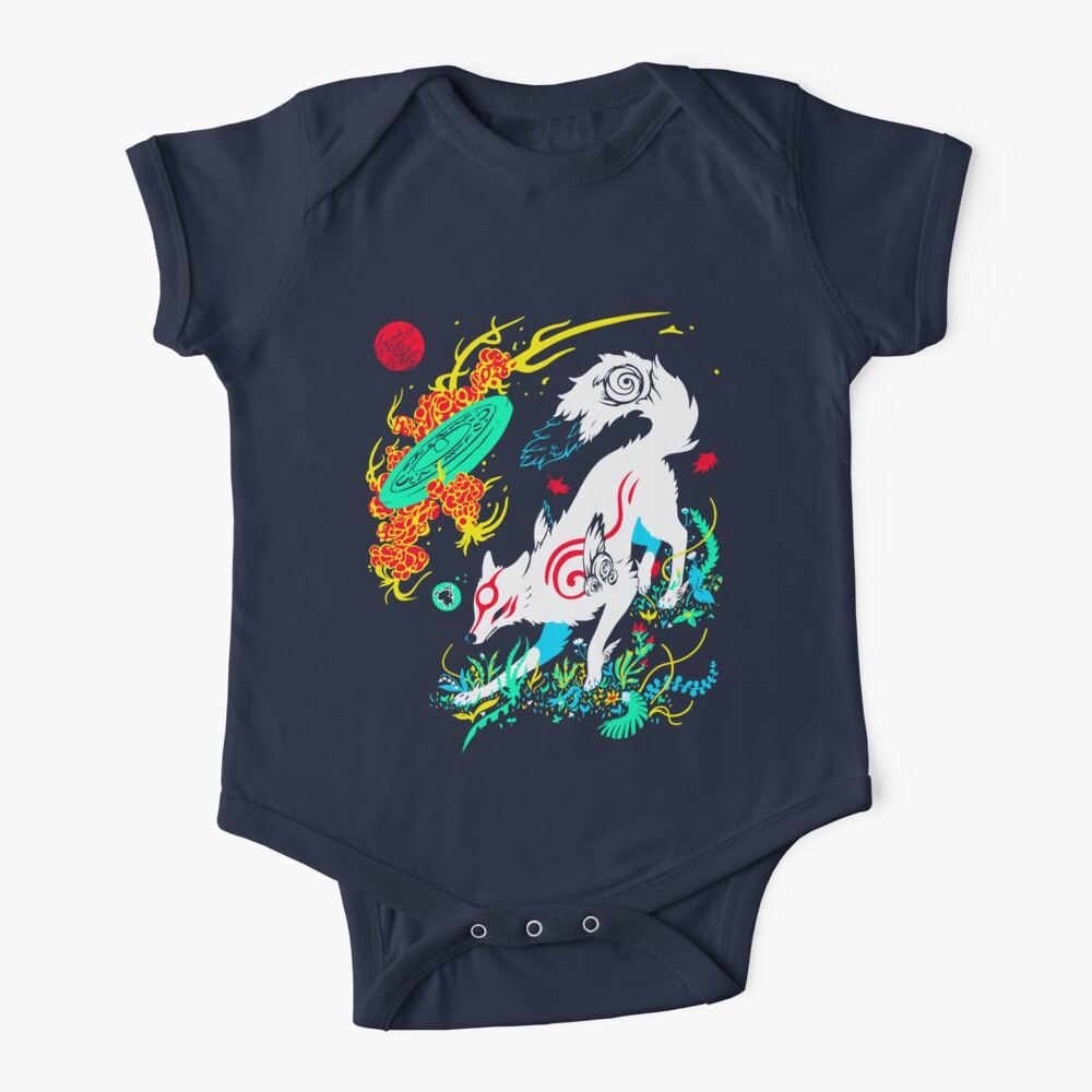 Kami of the Rising Sun  Baby One-Piece