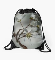 The fragile start of spring Drawstring Bag