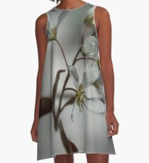 The fragile start of spring A-Line Dress