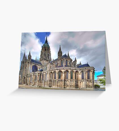 Notre-Dame de Bayeux  Greeting Card