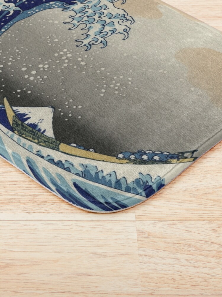 Alternate view of Great Wave Bath Mat