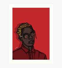 Young Thug Art Print
