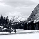 winter in the mountains by sabrina card