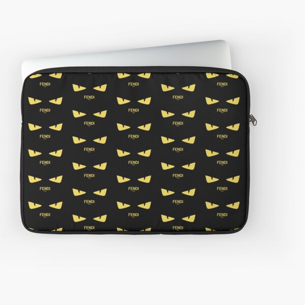 Fendi Eyes Laptop Sleeve
