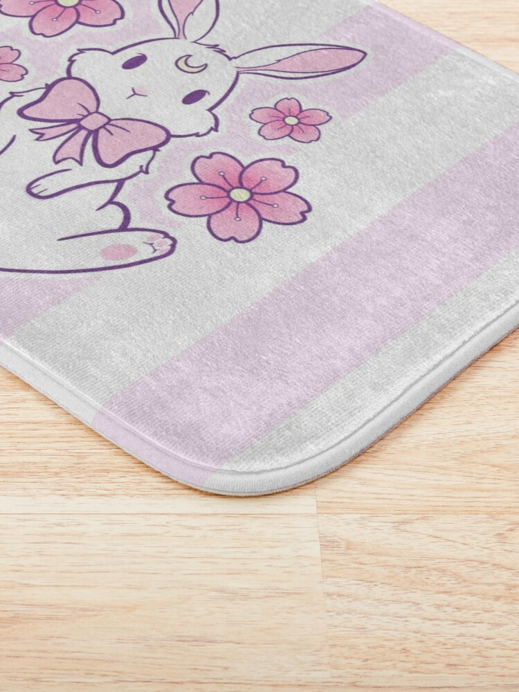 Alternate view of Sakura Bunny 02 Bath Mat