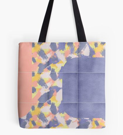 Messy Painted Tiles 01 #redbubble #midmod Tote Bag