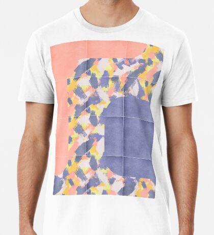 Messy Painted Tiles 01 #redbubble #midmod Premium T-Shirt