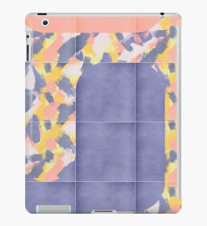 Messy Painted Tiles 02 #redbubble #midmod iPad Case/Skin