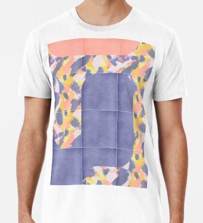 Messy Painted Tiles 02 #redbubble #midmod Premium T-Shirt