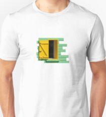 Green Wall, Yellow Window Unisex T-Shirt