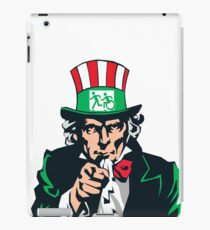 Accessible Exit Sign Project Uncle Sam iPad Case/Skin