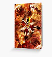 The Four Elements: Fire Greeting Card