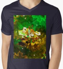 The Four Elements: Earth Mens V-Neck T-Shirt