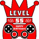 Level 55 Complete by wordpower900