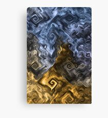 Thoughts About the Fall of Humanity Canvas Print