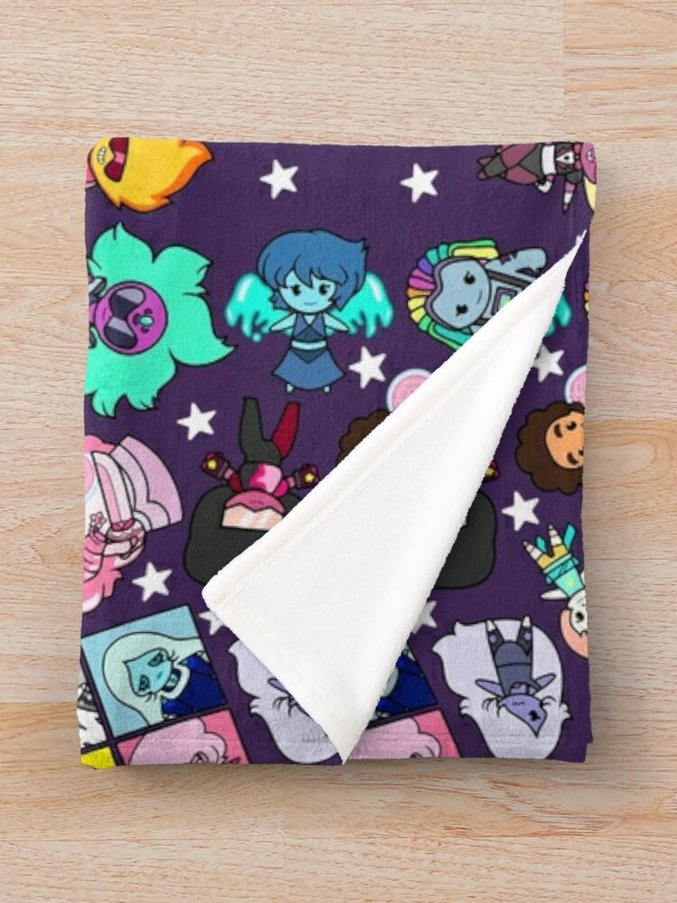 Alternate view of Crystal Gems Throw Blanket