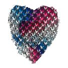 Red, White And Blue Stars In A Grunge Heart For Patriotic Accessories And Wearable Fun!   by MHirose
