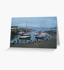Community Crab Fishing Greeting Card