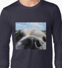 Bulldog nose Long Sleeve T-Shirt