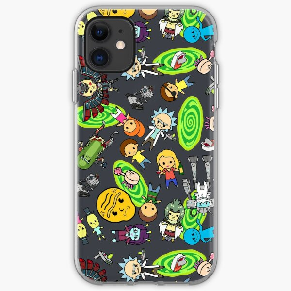 Rickest Rick and Mortiest Morty iPhone Soft Case